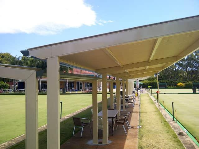Louvre Design Bowls club green shelter p3 3