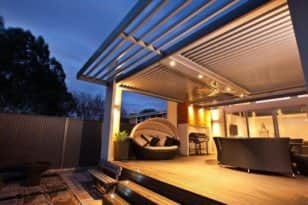 Shade Louvres - Totally Outdoors