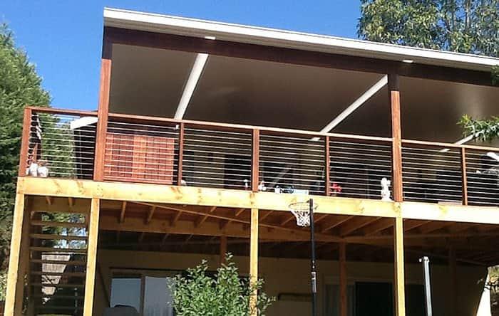 Louvre Design solarspan verandah and deck eltham 3