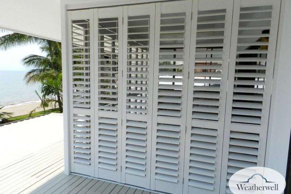 Aluminium Shutter - Multifold Panels - adjustable - Melbourne