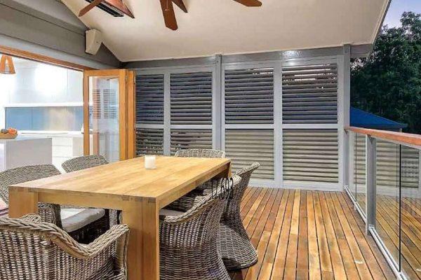 Aluminum Shutter panels - fixed- adjustable - Melbourne