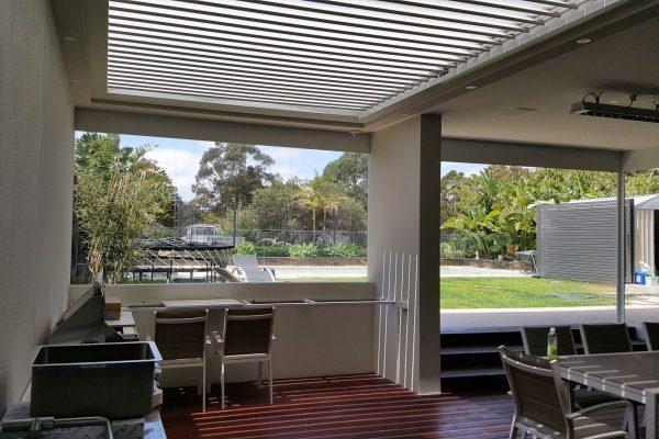 Ultimate Louver Roofing Verandah - Brighton - Melbourne